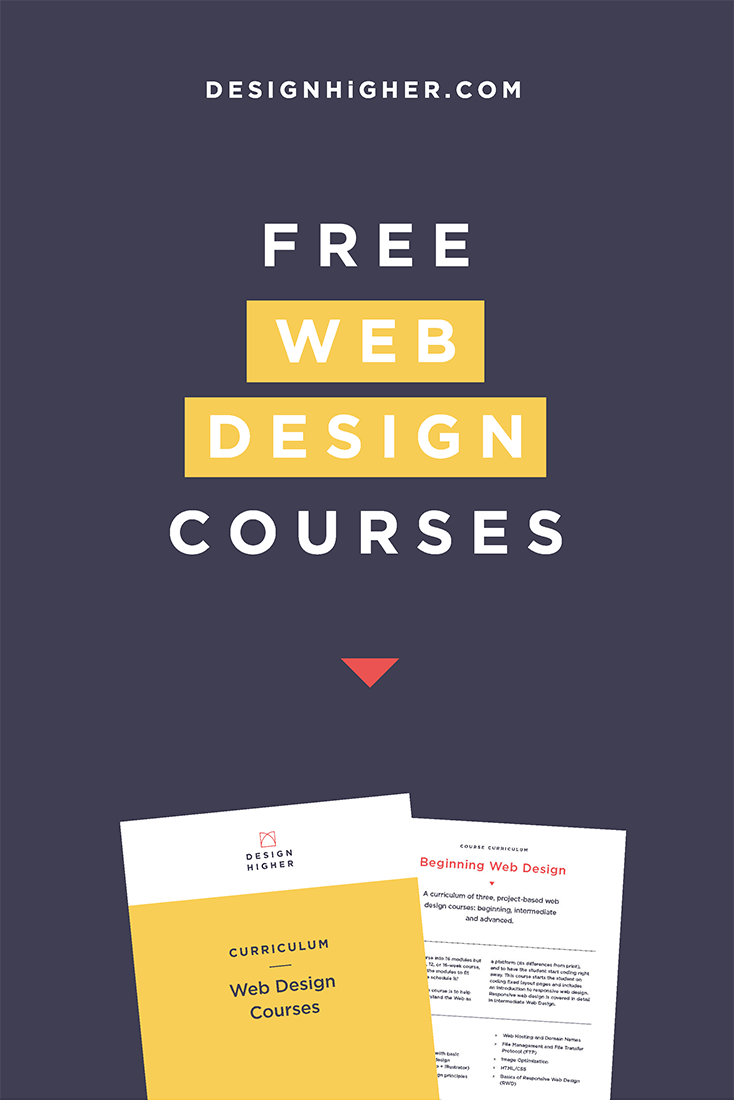 Free Web Design Courses Download!