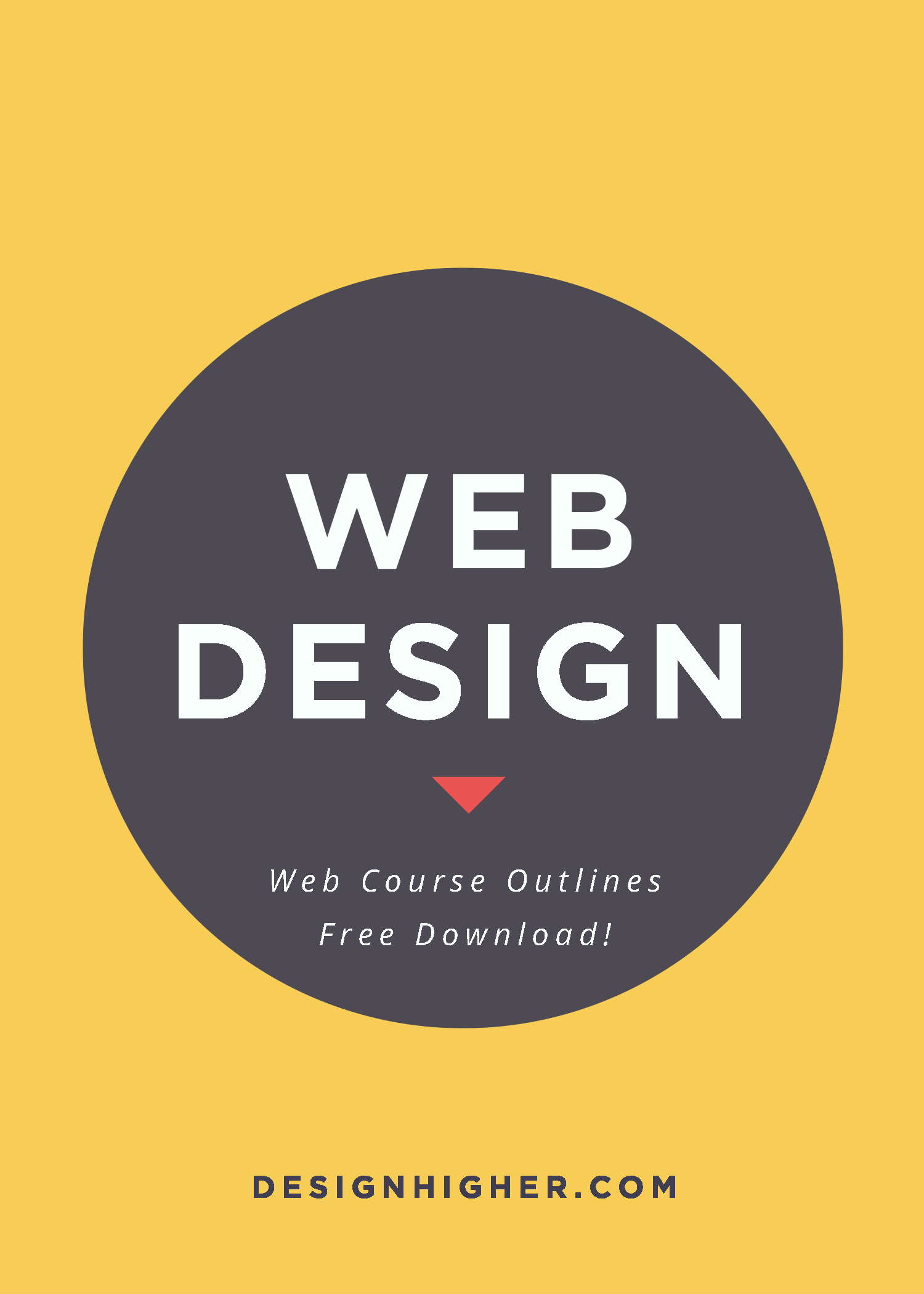 Web Course Outlines Free Download!