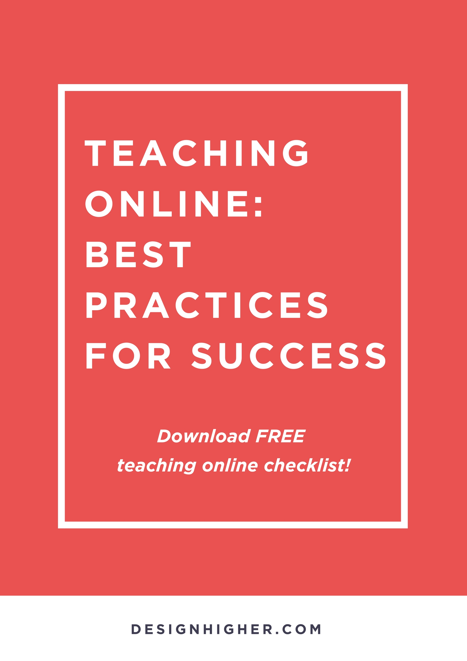 Teaching Online: Best Practices for Success. Free download!