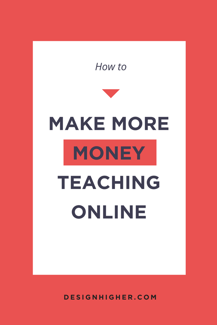 How to Make More Money Teaching Online