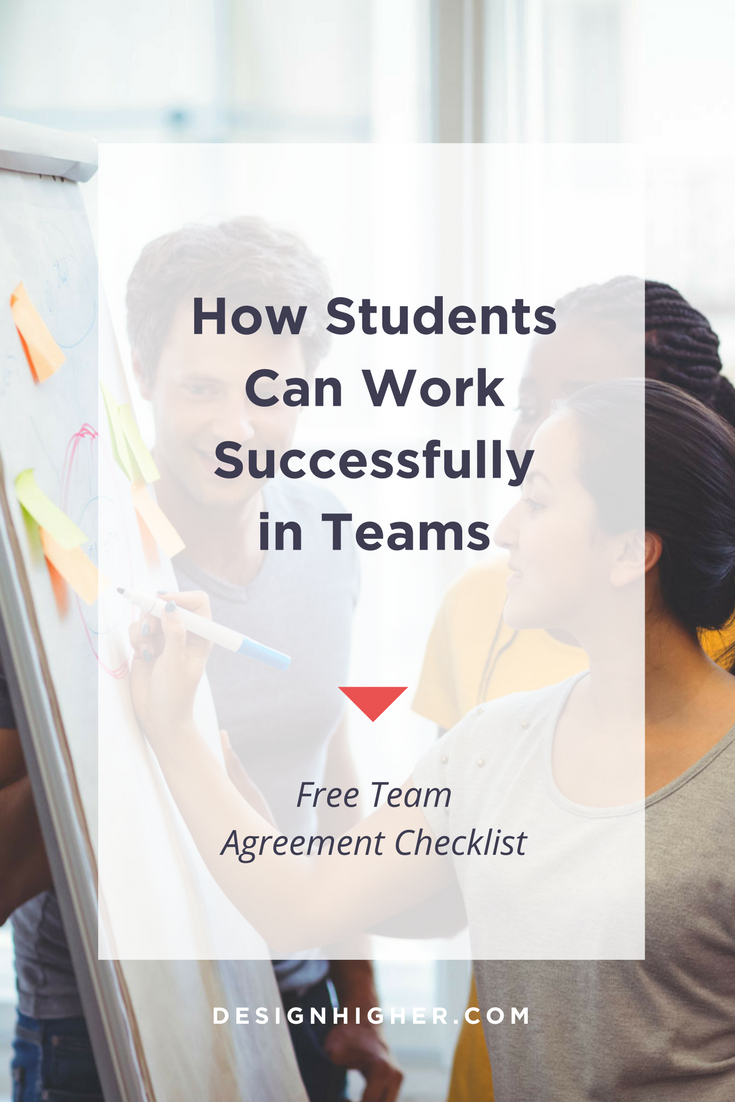 How Students Can Work Successfully in Teams // Free download - designhigher.com